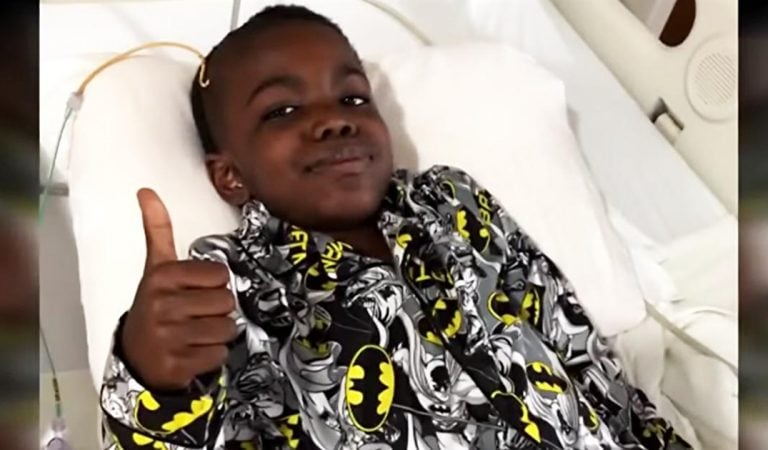 Little boy miraculously defeats stage four cancer and survives